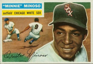Minnie Minoso's 1956 baseball card