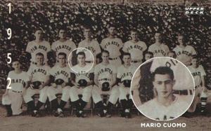 Mario Cuomo, Outfield.