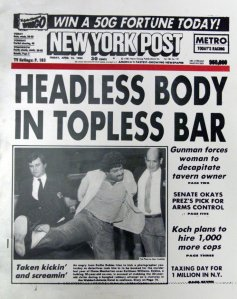 New York Post, April 15, 1983