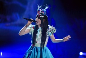 Jamie Lee Kriewitz at Eurovision 2016